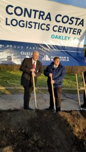 Groundbreaking a Success for former Chemical Facility in Oakley, CA.